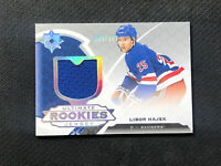 2019-20 UPPER DECK ULTIMATE LIBOR HAJEK ROOKIE JERSEY #ed 265/399