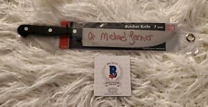 BAM HORROR BOX HALLOWEEN A MICHAEL LERNER AUTOGRAPHED KNIFE W COA Michael Myers