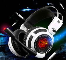 Professional Gaming Headset 7.1 Surround Sound Vibration USB PC Gaming Headphone