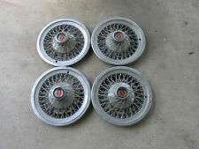 "1975 76 77 78 FORD LTD 14"" SPOKE HUBCAPS (SET OF 4)"