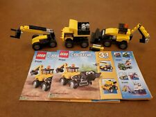 Lego Creator Construction Vehicles (31041) Complete With Box And 2 Manuals