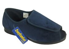 EEE Mens Slippers Open toe Coolers Cosy Comfort  Brand New FREE POST