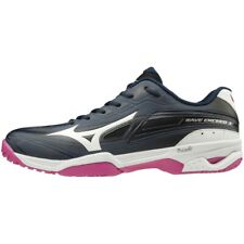 Mizuno tennis shoes Wave Exceed 3 Oc 61Gb1912 Navy × White × Pink