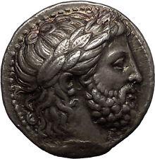 PHILIP II 337BC Macedonia Silver Greek TETRADRCHM NGC Certified Choice XF* Coin