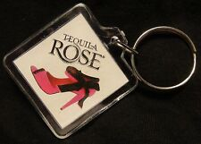Tequila Rose Key Chain - Plastic - Chocolate Covered Strawberry Recipe - NEW