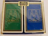 Vintage Duratone Plastic Coated Playing Cards Double Deck Murpaco NEW !!!