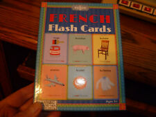 French Flash Cards by Eeboo ( beautiful pictures teach basic French vocabulary )
