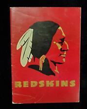 1948 Washington Redskins Media Guide w/Sammy Baugh