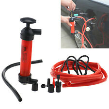 Universal 1 Set Car Vehicle Hand Transfer Pump Tools Kit For Gas Fuel Oil