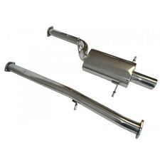 MANZO STAINLESS STEEL CAT BACK EXHAUST SYSTEM FOR 02-07 SUBARU STI