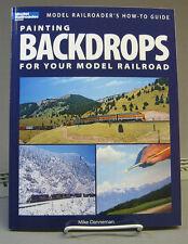 KALMBACH PAINTING BACKDROPS MODEL RAILROAD BOOK train o gauge model lionel 12425
