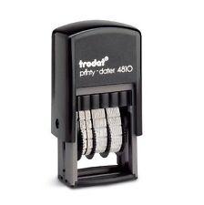 TRODAT MINI SELF INKING DATE STAMP 4810