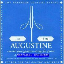 Augustine Clásico Azul Alta Tension Clásica Cuerdas de Guitarra