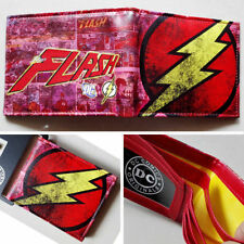 DC Comics The Flash LOGO Wallet Purse Man Women Cool Gift #35