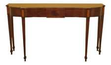 L45679: HENKEL HARRIS Model #5766 Mahogany Console Table ~ NEW