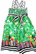 SO 17 Rosalita SENORITAS Niñas Vestido dálmata, verde talla 140