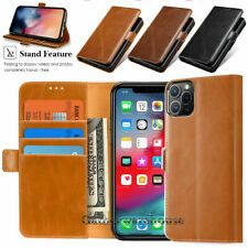 Luxury Magnetic Leather Case Flip Card Holder Wallet Cover For iPhone Samsung LG