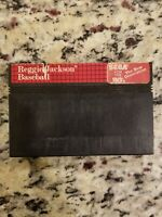 Reggie Jackson Baseball (Sega Master System, 1988) - Game Cartridge - FREE SHIP