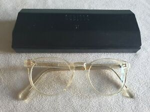 Cubitts clear glasses frames. Herbrand. With case.