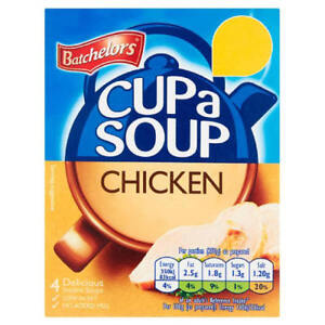 Batchelors Cup a Soup Chicken 12 Sachets   3 Boxes *4 Packs BBE 03/22 PMP £1.59