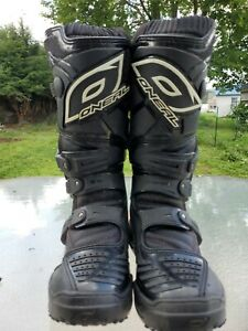 O'NEAL ONeal ELEMENT Motocross Motorcycle Boots US size 7/ EUR 37.5 mx