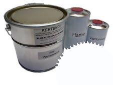 1,5 Liter Set 2K Bodenbeschichtung RAL 9016 Wei�Ÿ Glanz Bodenfarbe Werkstatt