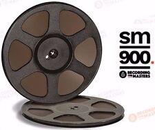 """Sm900 Rtm Pyral Rmg Rmgi Tape Reel To Reel 1/4"""" X 2500 10.5"""" Plastic Trident New"""
