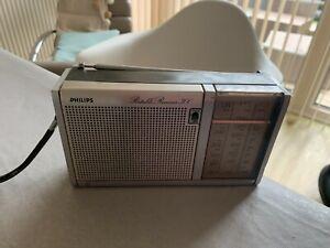 Vintage Philips Portable Receiver 300 Radio - 1970's