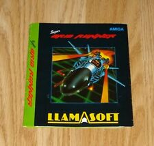 Super Grid Runner Inlay Carte (llamasoft) Commodore Amiga