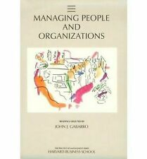 Managing People And Organizations Gabarro, John J. Paperback Used - Good
