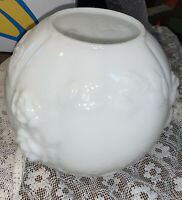 Vintage Milk Glass Gone With The Wind Rose Lamp Shade