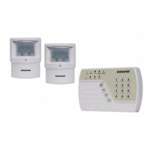 Funk Alarmanlage Sicherheitssystem Bewegungsmelder GSM SMS Komplettset
