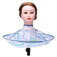 Foldable Kids Adult Hair Cutting Cloak Umbrella Cape Salon Barber Hairdressing