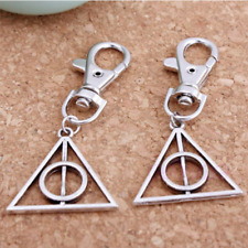 1pc Magic Harry Potter Deathly Hallows Mini Metal Tool Key Chain Keyring Kids