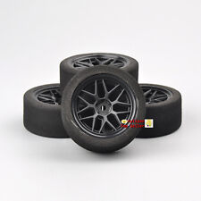 Hot 4PCS Unique Wheel Rims&Foam Tires 23002 For HSP HPI 1:10 on-Road Racing Car