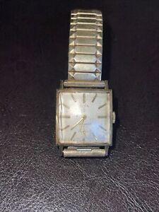 Vintage Elgin 772 19 Jewels 10k Men's Wrist Watch
