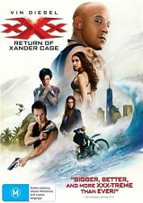 XXX - Return Of Xander Cage (DVD, 2017) Australian Stock