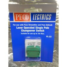** Peco PL-23 Single Pole Changeover Switch x 1 (Green)
