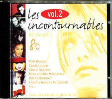 LES INCONTOURNABLES DES ANNEES 80 VOLUME 2  - CD COMPILATION [84]