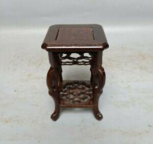 noble decor stand display heizhi wood base china carving wooden pedestal shelf
