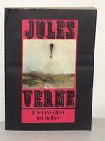 Jules Verne - Fünf Wochen im Ballon - DDR Neues Leben 1983 Paperback (2)