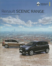Brochure: Renault Scenic - 2015 (Includes XMod, 5-seat and Grand Scenic)