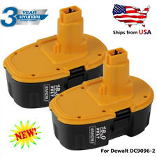 2 Pack 18V DC9096 XRP BATTERY FOR DEWALT XRP DC9096-2 DE9095 DW9095 DC9099 Drill