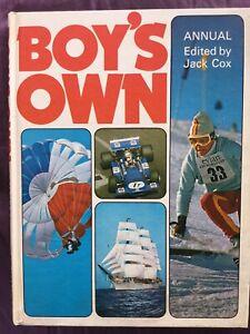 Boy's Own Annual edited by Jack Cox(hardback)1974