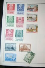 Collection of Soviet Russia Stamps