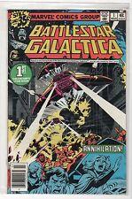 BATTLESTAR GALACTICA # 1 MAR 1979 Fine BY marvel comics