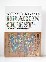 3 - 7 Days   Dragon Quest Akira Toriyama Illustrations Art Book + Case from JP