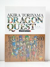 3 - 7 Days | Dragon Quest Akira Toriyama Illustrations Art Book + Case from JP