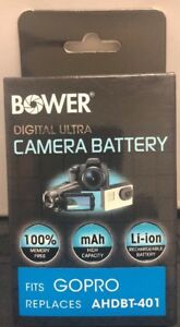 High Capacity Camera Replacement Battery for AHDBT-401 GroPro Hero 4