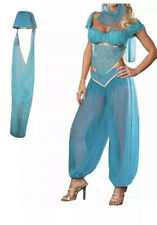 Genie Fancy Dress Costume Princess Jasmine Size 6-8